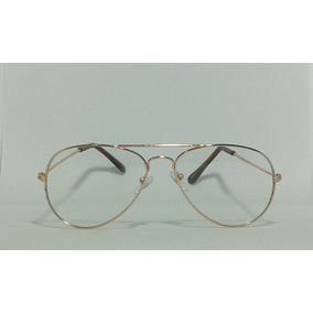 296989eee Óculos Aviador Sem Grau - Óculos no Mercado Livre Brasil