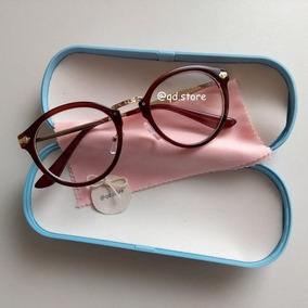 906c5461fad98 Oculos Redondo Geek Vintage Nerd Outras Marcas - Óculos no Mercado ...