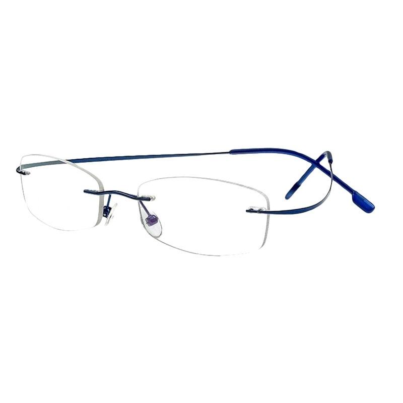c420bd5093c7c Carregando zoom... armação oculos grau titanio armacoes masculino feminino  a01. Carregando zoom.