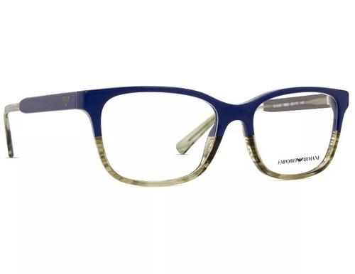 Armação Oculos De Grau Emporio Armani Ea3121 Original - R  338,90 em ... 41cee0de85