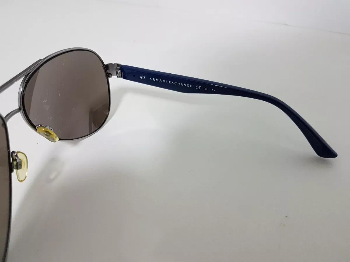9637061dac8ae óculos armani exchange original na caixa aviador espelhado. Carregando zoom.