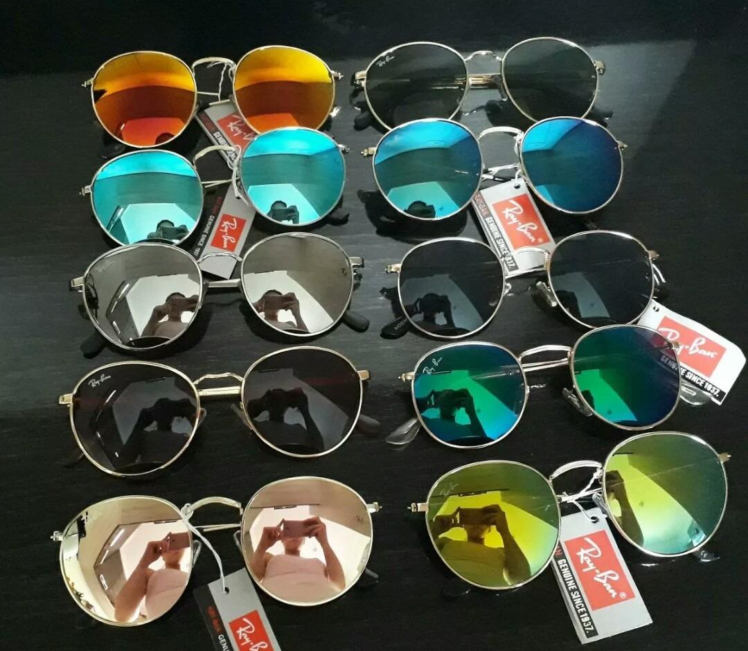 óculos atacado round revenda kit com 10 acompanha case. Carregando zoom. c7b12bd215