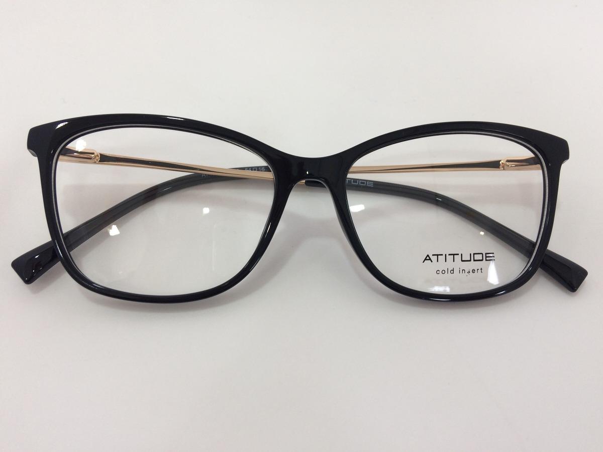 2fc27a559 Oculos Atitude At4099 A01 54 16 145 - R$ 249,00 em Mercado Livre