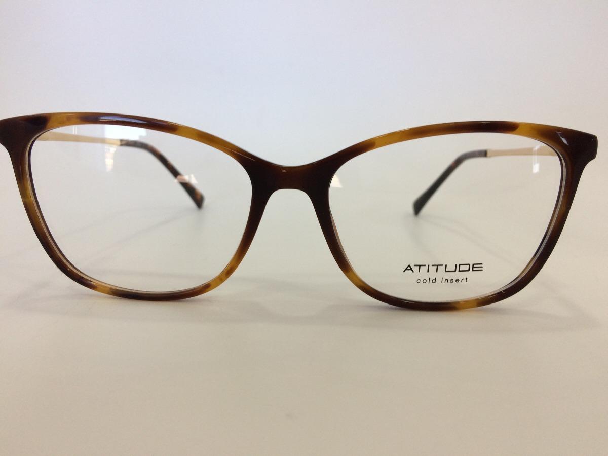 cfd2c83da Óculos Atitude At4099 G21 54 16 145 - R$ 249,00 em Mercado Livre
