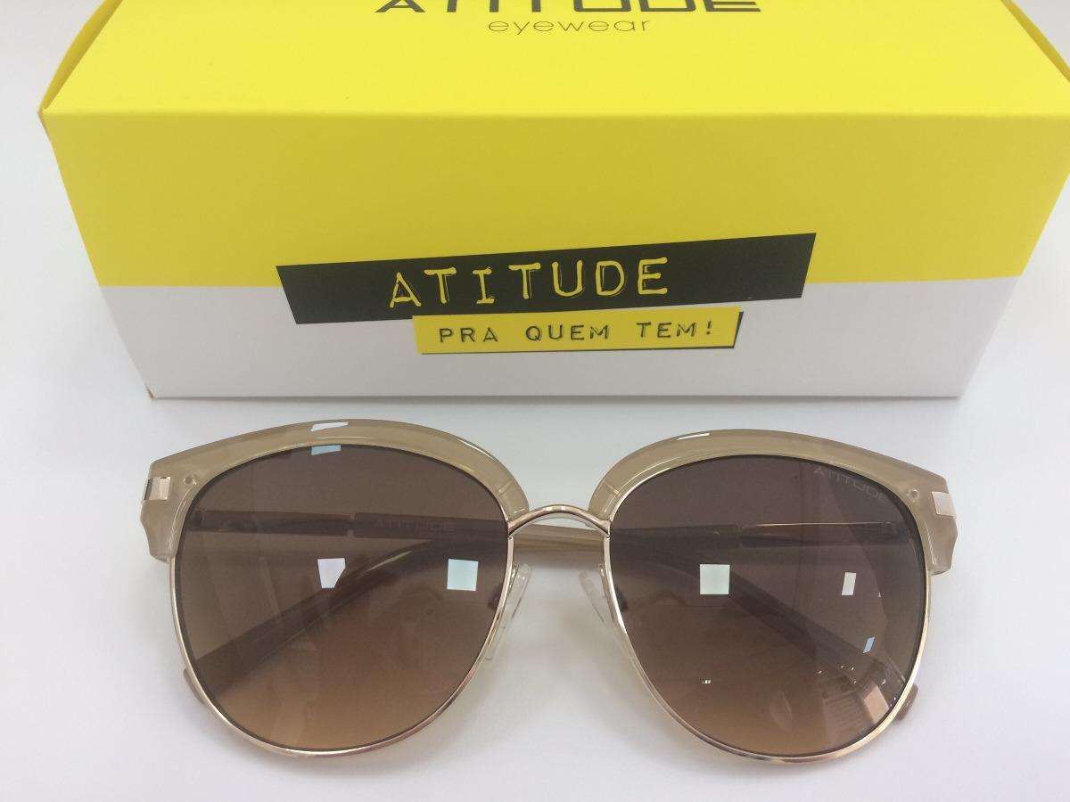 9fb2173a33170 Óculos Atitude Eyewear Solar At3212 T01 56 16 138 3n - R  259