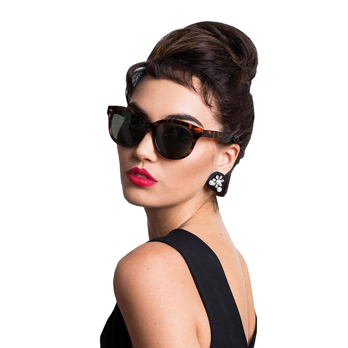 óculos audrey hepburn breakfast estilo tiffany cat-eyed. Carregando zoom. edc3de7651