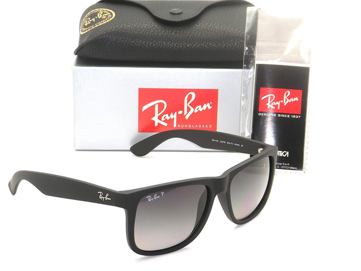 Óculos Authentic Ray-ban Justin Rb 4165 62 - 95150 - R  1.564,56 em ... 96529870be