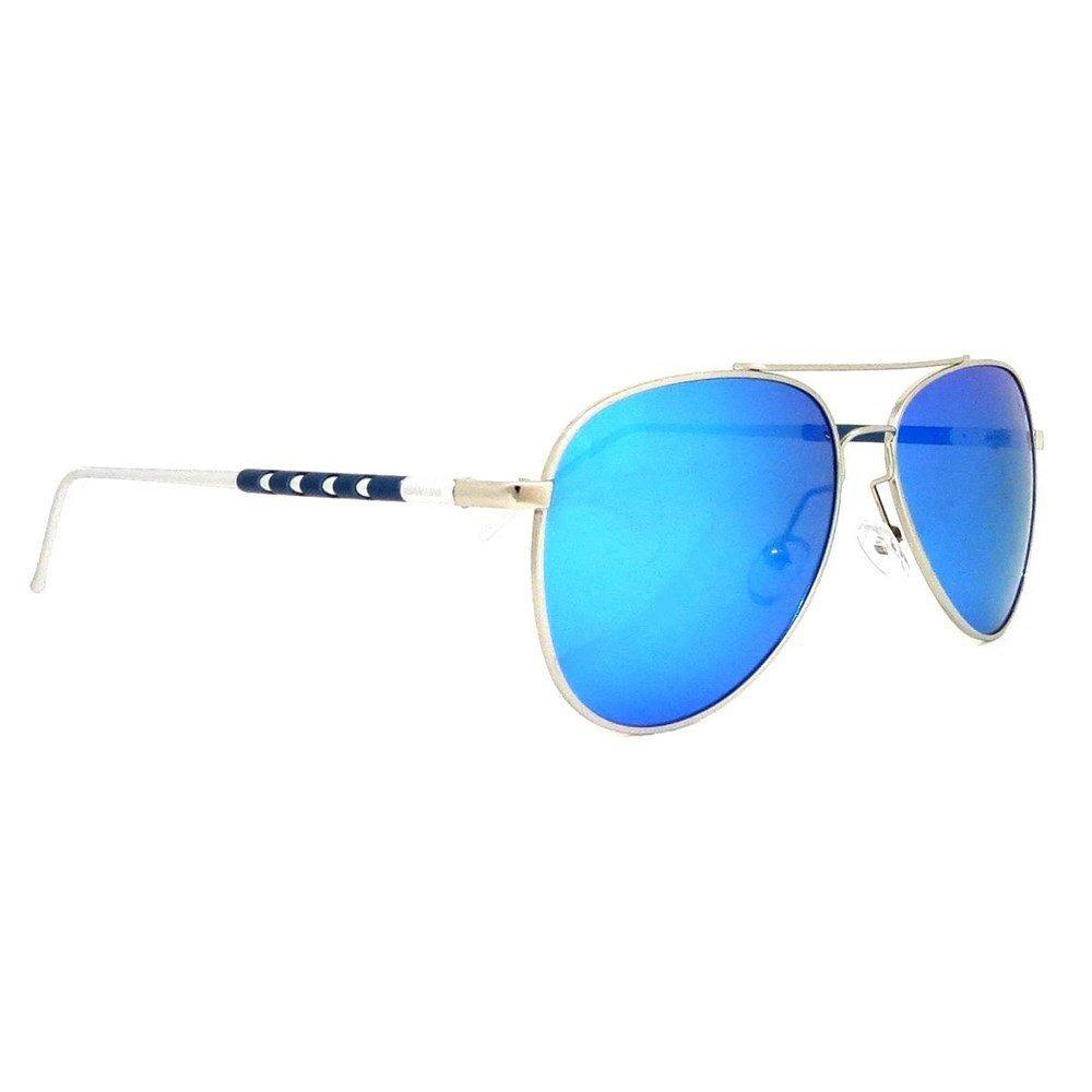 af1d0dc69ef40 óculos aviador alumínio espelhado azul siracusa. Carregando zoom.