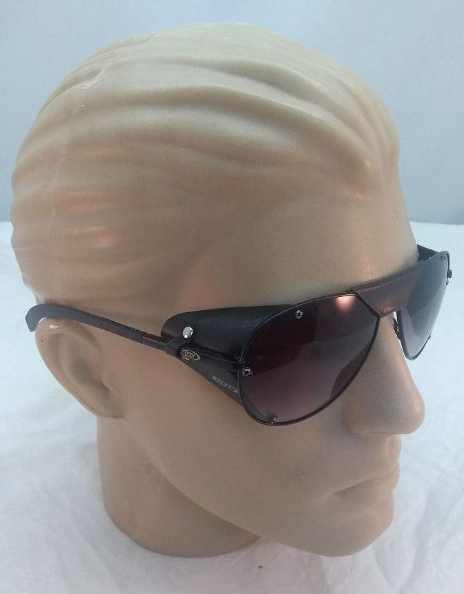 ee426d29cae2c Oculos Aviador Com Protrçáo De Couro Lateral(estilo Ray Ban) - R ...