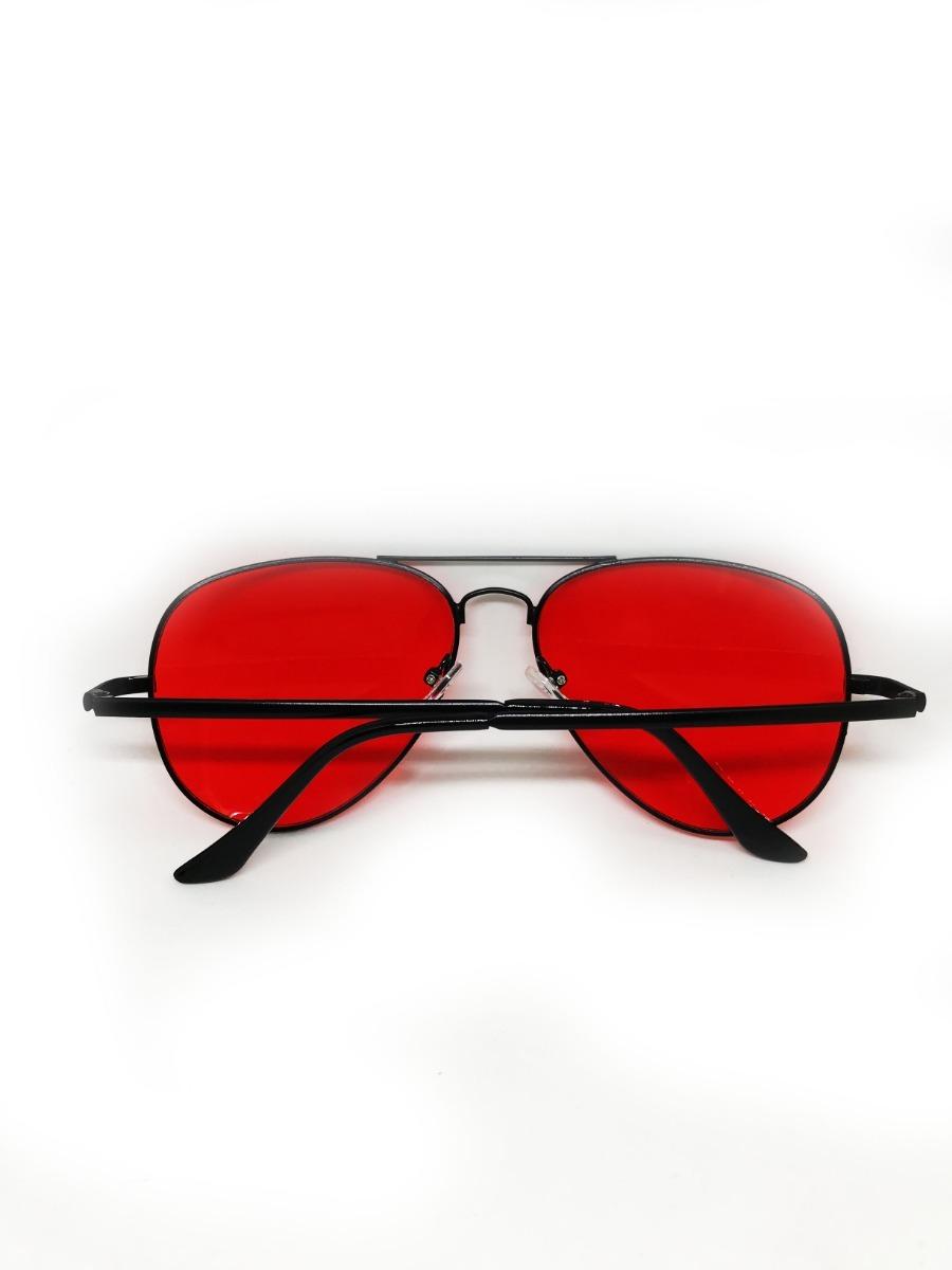 Óculos Aviador De Lente Vermelha Colorida - R  49,99 em Mercado Livre 73203c0ec9