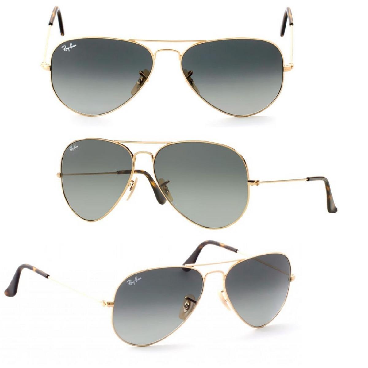 Oculos Aviador Degrade Rb Varias Cores Unissex P M G - R  50,56 em ... f7c6a1c88c