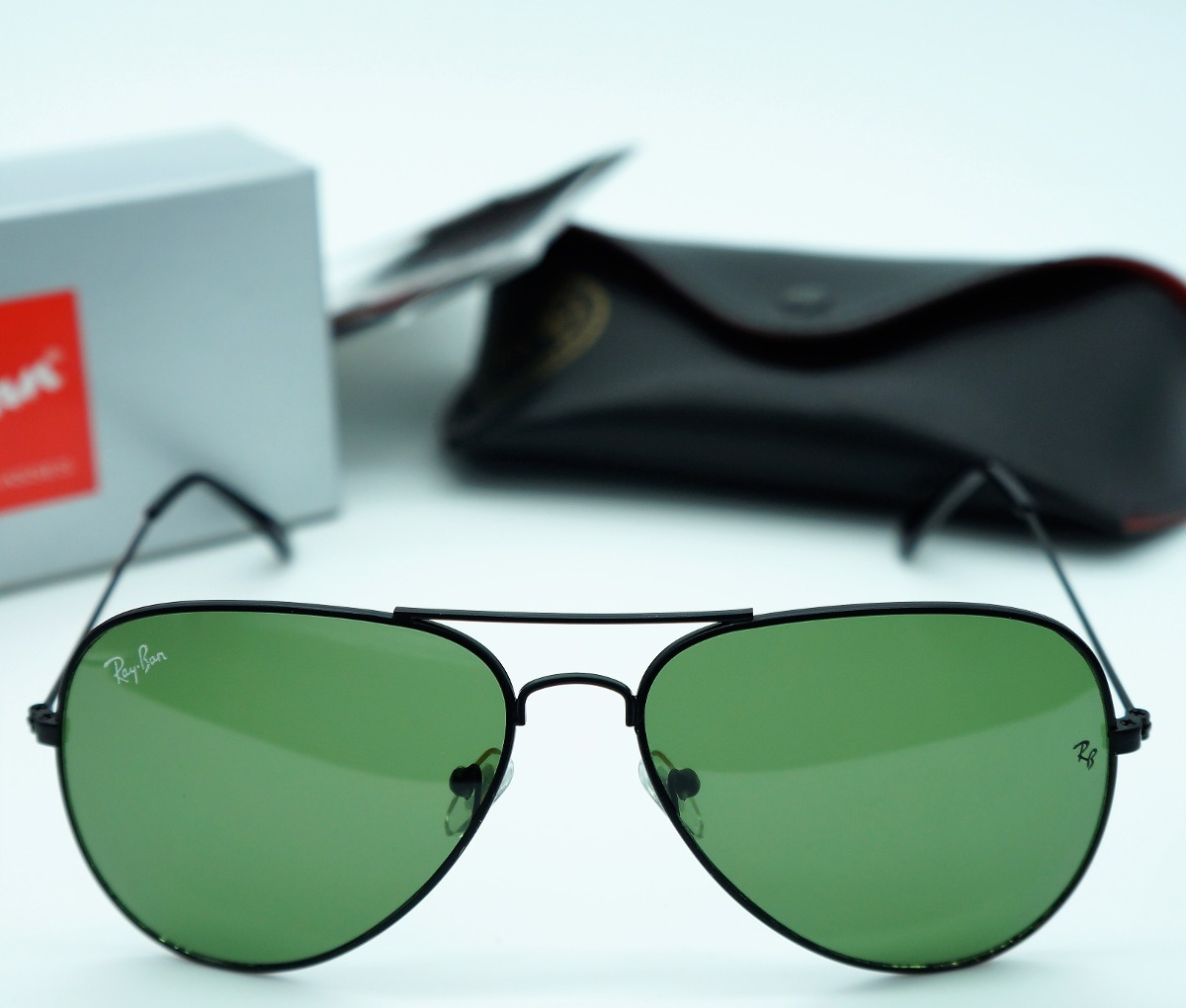 b4627113e50f5 oculos aviador feminino preto verde 3025 3026 original uva. Carregando zoom.