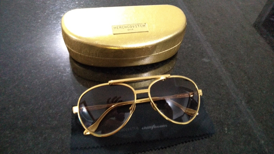 f57bc3b44 Óculos Aviador Herchcovitch - Chilli Beans - R$ 290,00 em Mercado Livre