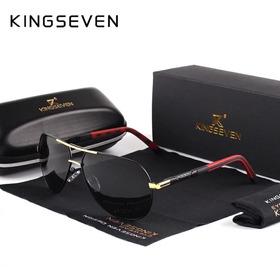 Óculos Aviador Kingseven Polarizado E Proteção Uva