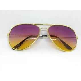 93b81d7fb Oculos Aviador Lente Colorida no Mercado Livre Brasil