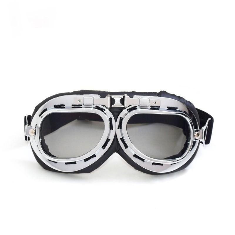 d83f58a09 óculos aviador lente fumê vintage retro moto harley custom. Carregando zoom.