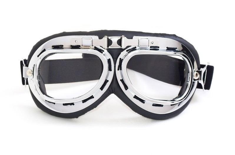 c49db41c55874 Óculos Aviador Lente Transparente Estilo Vintage Retro Moto - R  49 ...
