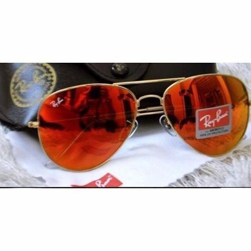 Óculos Aviador Masculino Vermelho Espelhado 3025 3026 - R  83,00 em ... 9cf037b297