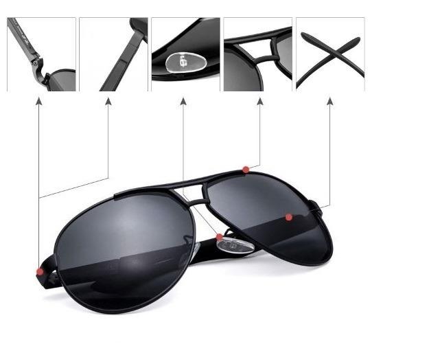 50b470e104fbd Óculos Aviador Polarizado Esportivo Alloy Rb Space Uv400 - R  109