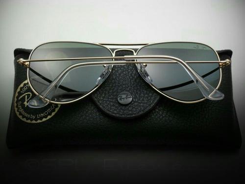 Oculos Ray Ban Preto Aviator. Óculos Ray Ban Aviator Large Preto Original -  BCF5   Etiqueta Única e72549a798