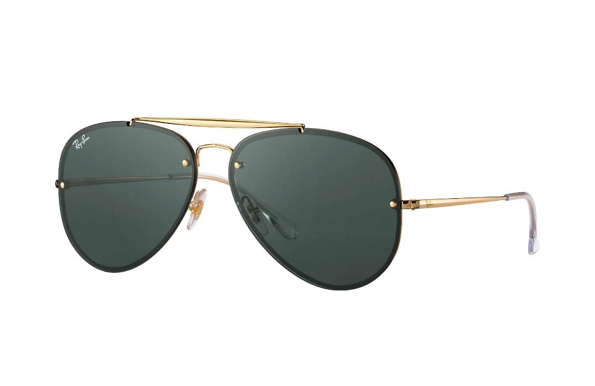 c6b74722d óculos aviador ray ban rb 3584 9050/71 blaze - original. Carregando zoom.