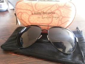 12b9a5174 Óculos De Sol Chilli Beans Semi Novo Óclão Ótimo Preço - Óculos no ...