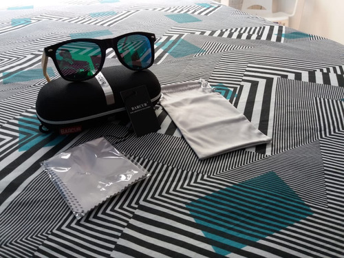 óculos bacur hd bambu polarizado