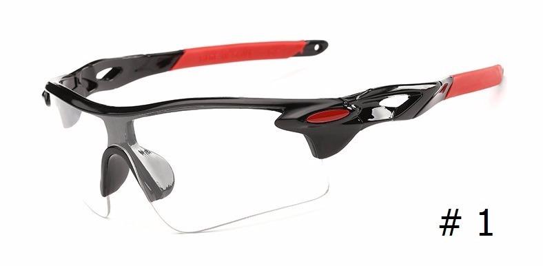 9e2757195e734 Óculos Bike Ciclismo Corrida Esporte Lente Transparente - R  14