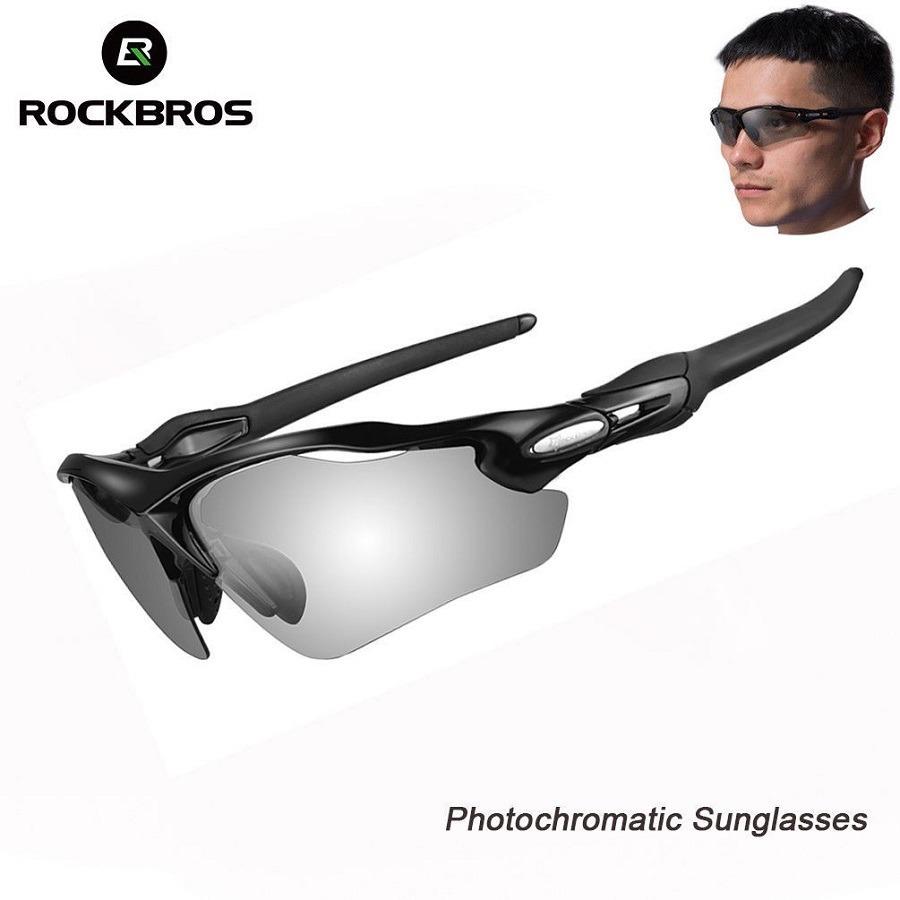 2199ee53593ec óculos bike esporte ciclismo rockbros polarizado fumê uv400. Carregando  zoom.