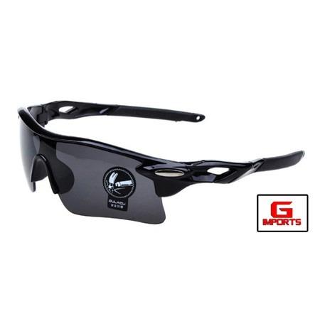 625683546889c Óculos Bike Preto Ciclismo Proteção Uv400 - R  45