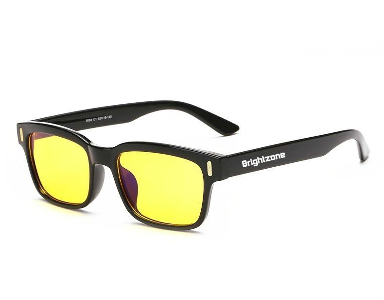 Óculos Bloqueia Anti Luz Raio Azul Escuridão Virtual + Case - R  69 ... 02a5d5b281