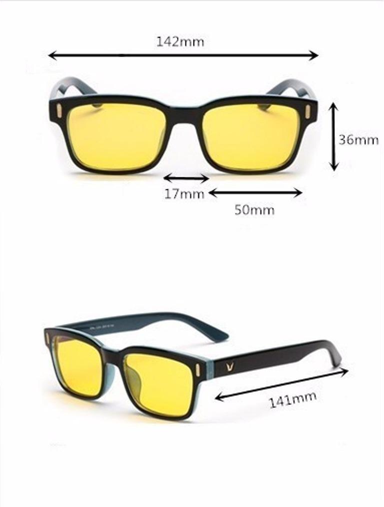 óculos bloqueia anti luz raio azul escuridão virtual + case. Carregando  zoom. 8a210bd089
