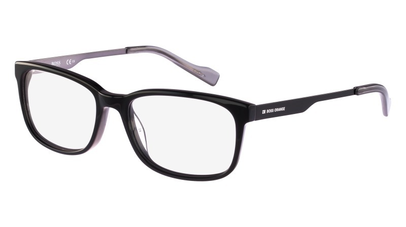 f6dbc0761d961 Óculos Boss Orange Bo 0165 Preto Hugo Boss - R  493