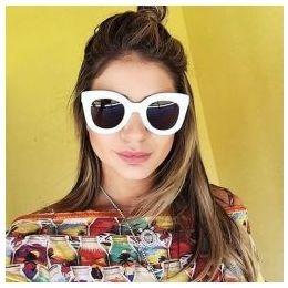 7b27d0005 Óculos Branco Celine Marta Cat Gatinho Novo Sabrina Sato - R$ 139,00 ...
