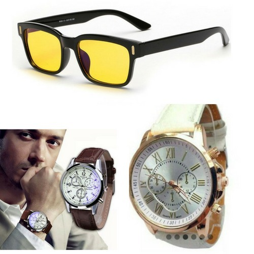 7d2851f3ef1 Oculos - Brightzone ! + Kit De 2 Relogios !!! Veja O Video !