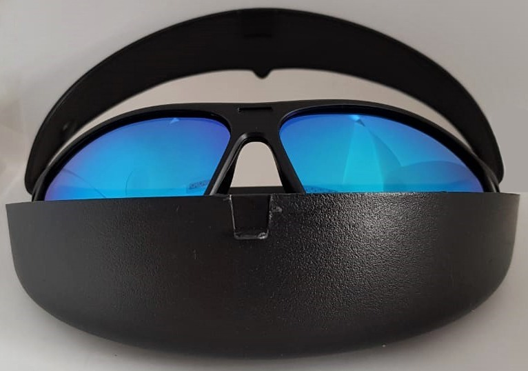 3c9bfdf2cb619 Óculos C  Lente Espelhada Polarizada Proteção Na Pescaria - R  49,90 ...