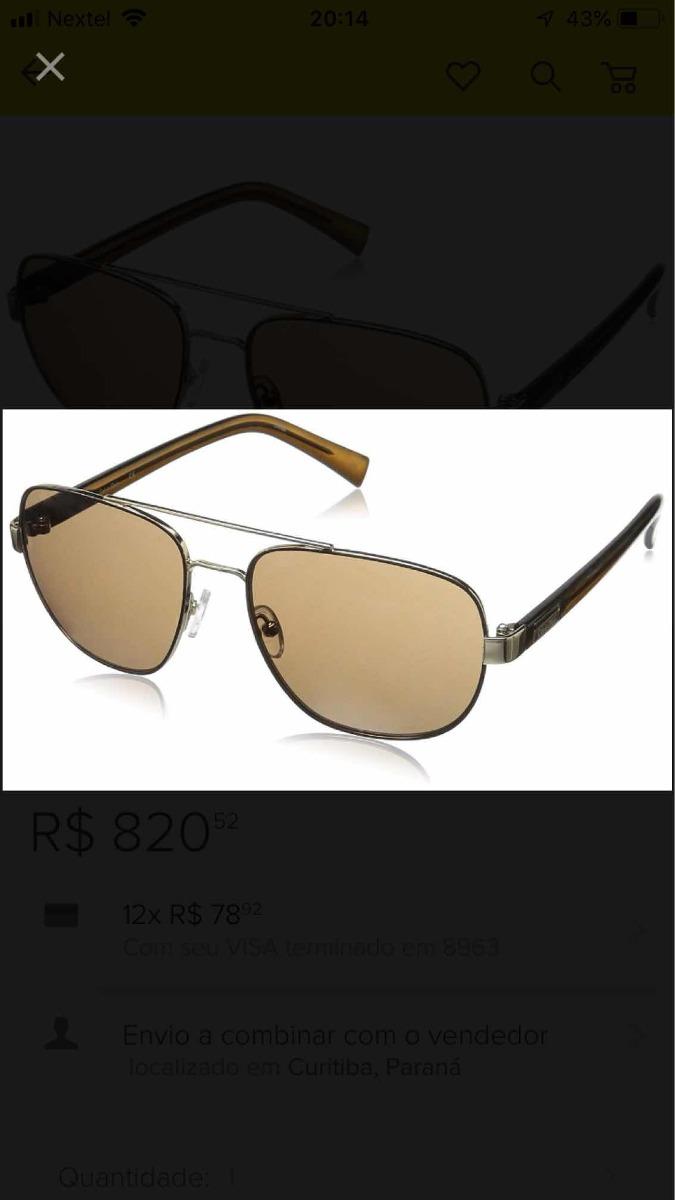 Óculos Calvin Klein Modelo R357s Aviator S 221337 - R  499,00 em Mercado  Livre f6206969ba