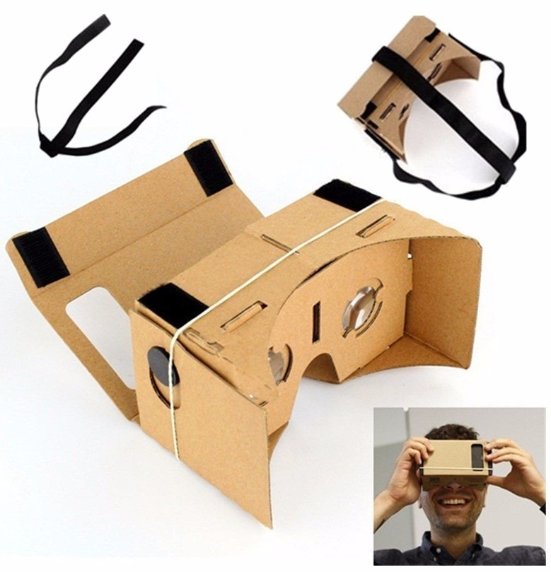 6af3de43a1cf2 Óculos Cardboard Realidade Virtual 3d Rift Vr 4d - Pt Entreg - R  23 ...