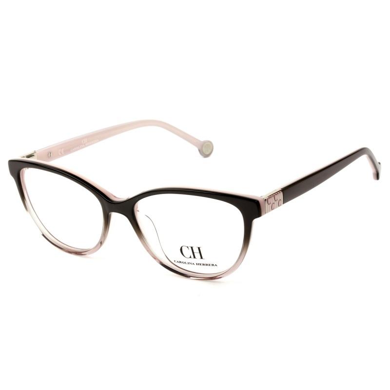 afca6c855d33f Óculos Carolina Herrera Vhe 720 0g49 53 - Grau Rosa - R  749