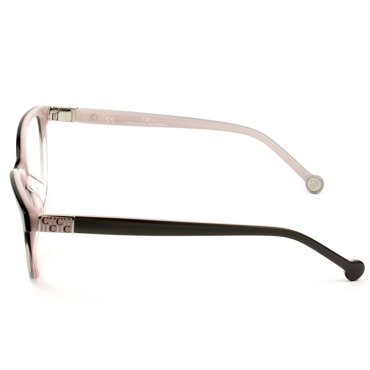 e208442519880 óculos carolina herrera vhe 720 0g49 53 - grau rosa. Carregando zoom.