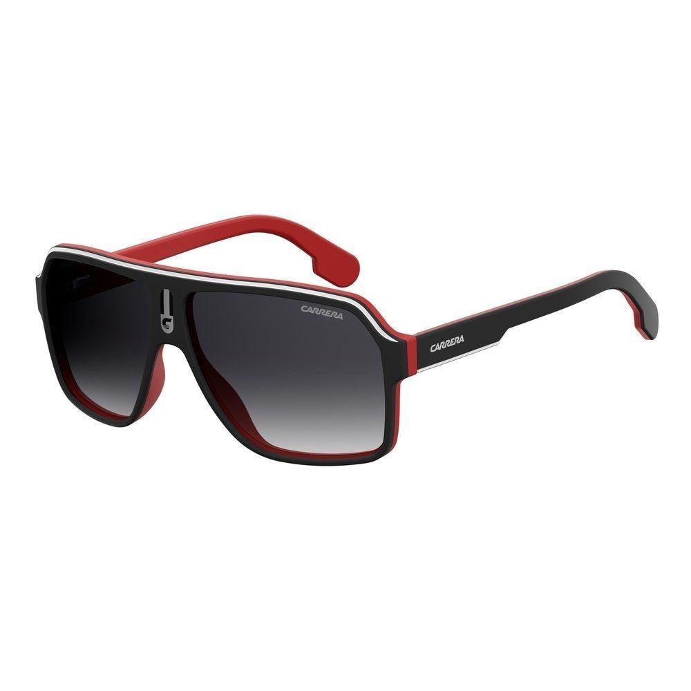 4997f189b589c Óculos Carrera 1001 s Preto vermelho - R  340