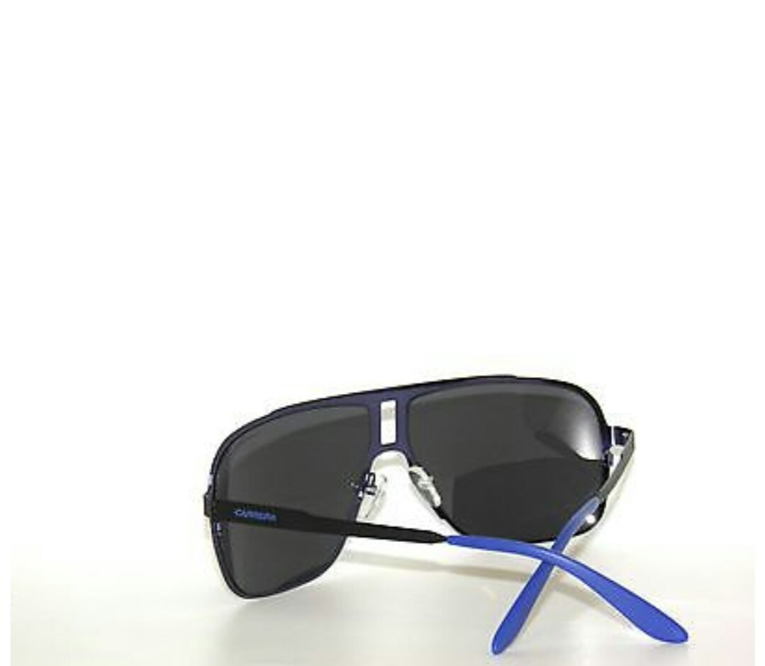 7a95c3896 Óculos Carrera 121 003 Matte Black Blue Original 27 40 87 - R$ 399 ...