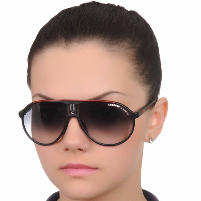 49deed746e6dc Óculos Carrera 27 Xsz Black Red 33 22 26 Grand 40 - R  104