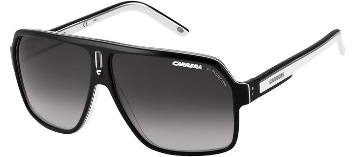 b0927d9def398 Óculos Carrera 27 Xsz Black White Original 33 22 26 Grand 40 - R ...