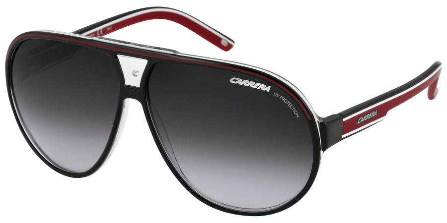 Óculos Carrera Grand Prix 1 T40 Black Red Pronta Entrega - R  389,90 ... ff20d6c6f9