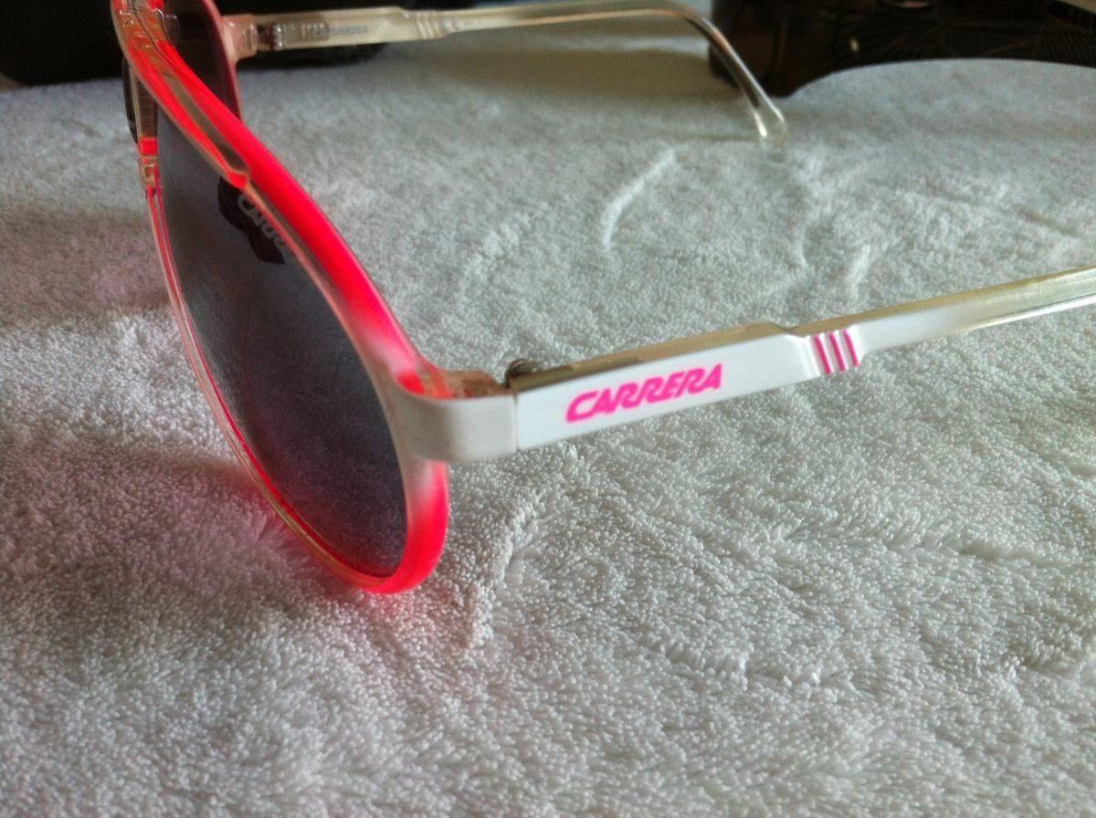 Oculos Carrera Original C  Caixa - Rosa E Branco - R  175,00 em ... 548aee3b29