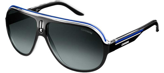06f142934 Óculos Carrera Speedway 93d Black Blue White Pronta Entrega - R$ 389 ...
