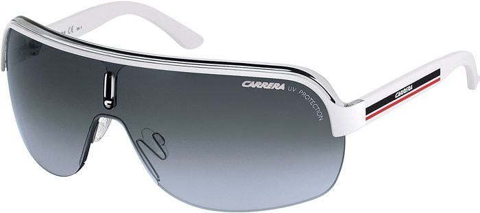 Óculos Carrera Topcar 1 Kco White Black Red Top Car - R  569,00 em ... b95bbfdd04