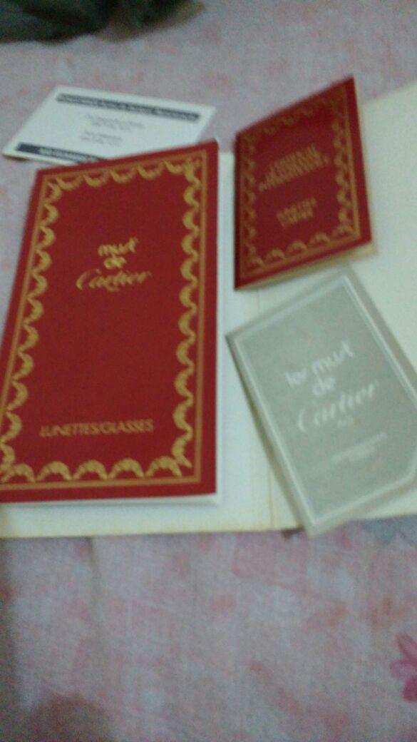 4a90b190a Óculos Cartier Em Ouro 18k Em Promoção! - R$ 3.900,00 em Mercado Livre