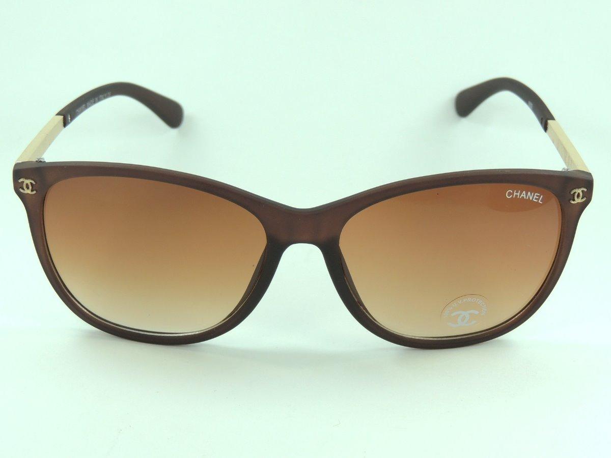 fdf28ea6e óculos chanel marrom feminino luxo proteção uv400 frete grat. Carregando  zoom.